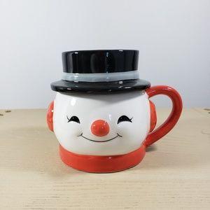 Hallmark Snowman Mug with Lid